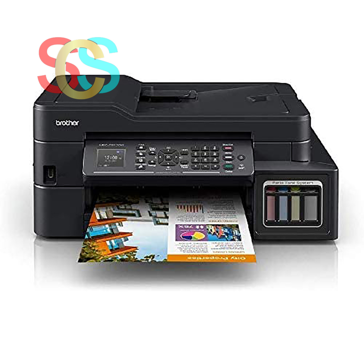 Brother MFC-T910DW Colour Multi-function Ink Tank Printer