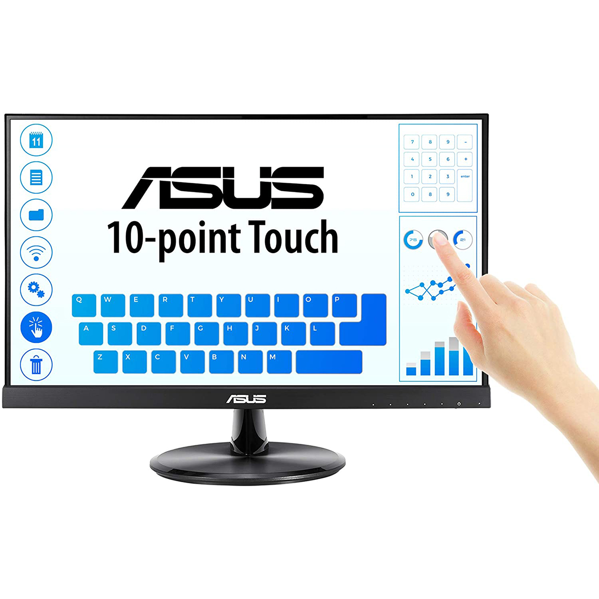 ASUS VT229H 21.5 Full HD, 10-point Touch, IPS, 178degree Wide Vi