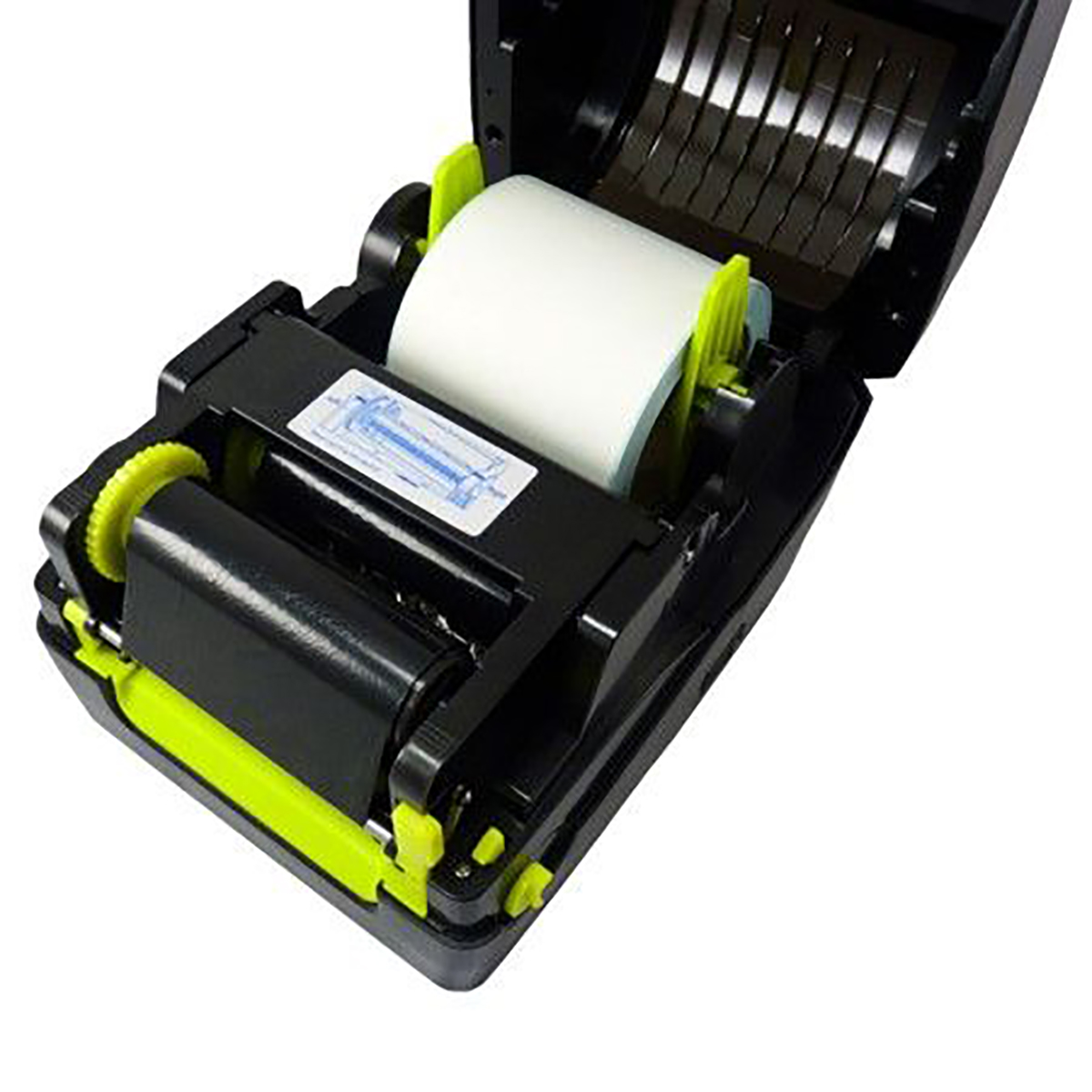 TYSSO (Exclusive) BLP-410 4 Inch Thermal Transfer/Thermal Direct ID & 2D Barcode Label Printer