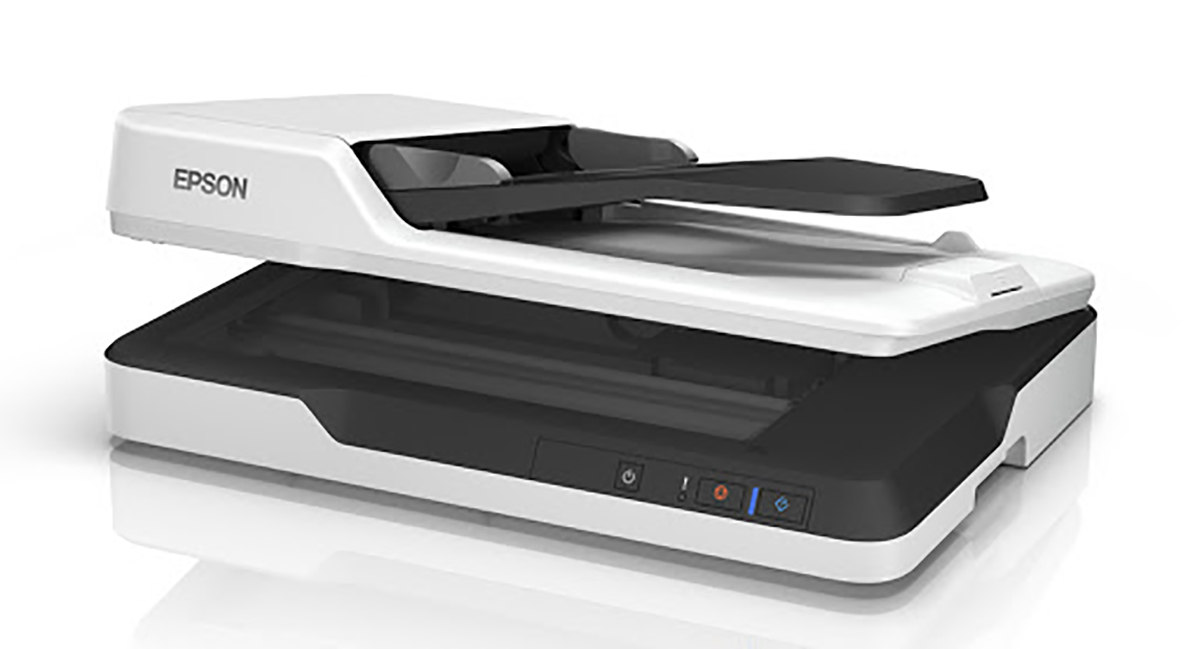 Epson DS-1630 Flatbed and Sheet Fed Color Document Scanner with