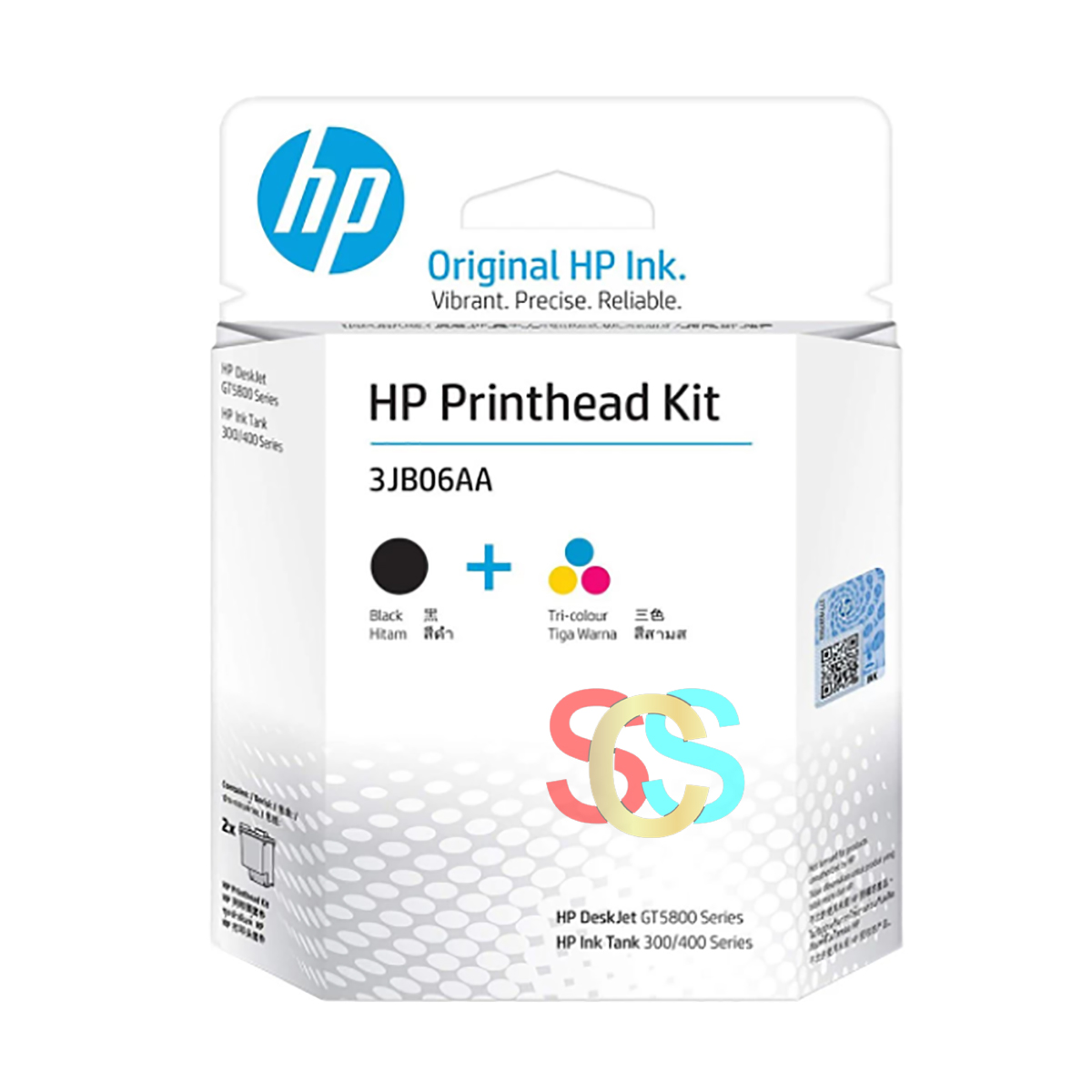 HP GT51/GT52 2-pack Black/Tri-color Printhead Replacement Kit