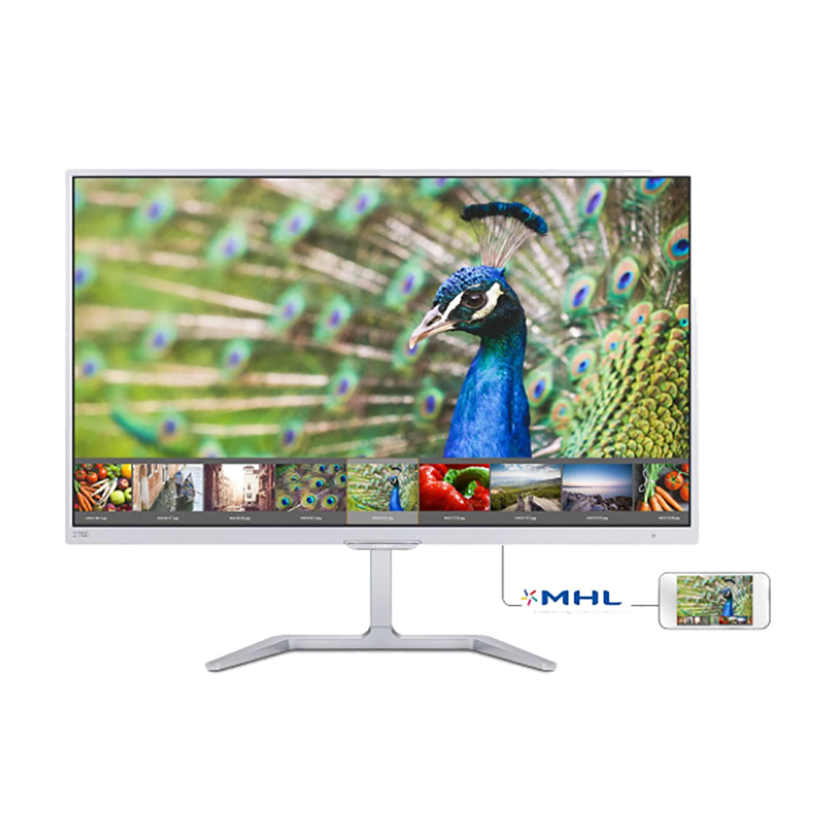 Philips 276E7QDSW/00 27 Inch Full HD Ultra Wide Color PLS LCD Mo