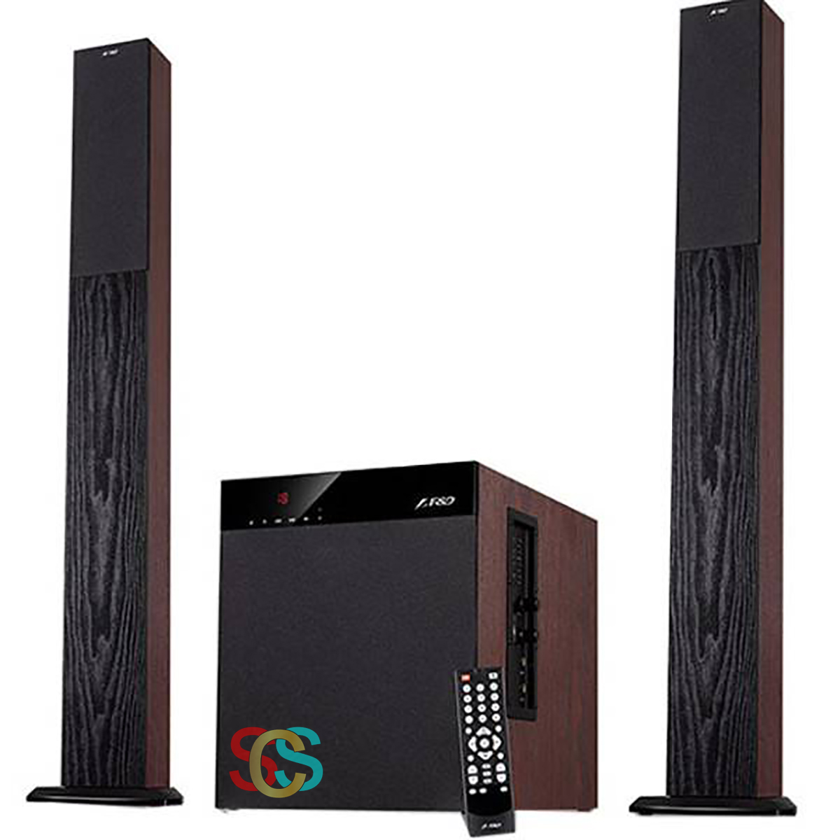 F&D T400X Bluetooth 2:1 Tower Home Theater Speaker