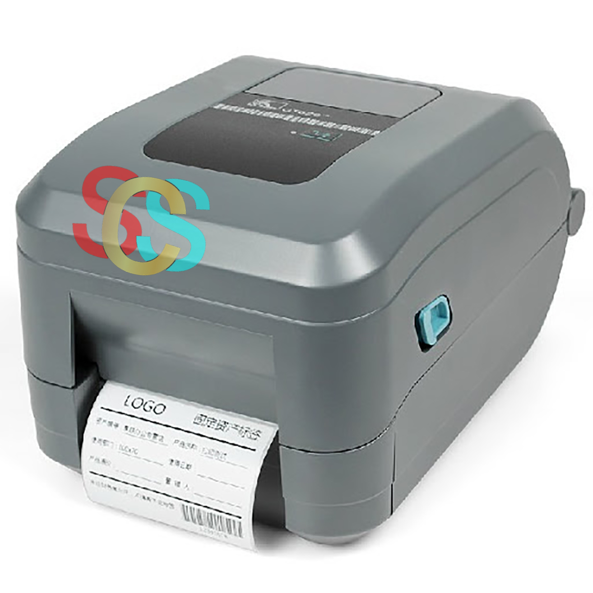 Zebra GT 800 (203 dpi) Label Barcode Printer with USB, Serial & Parallel Port (Without Ribbon)
