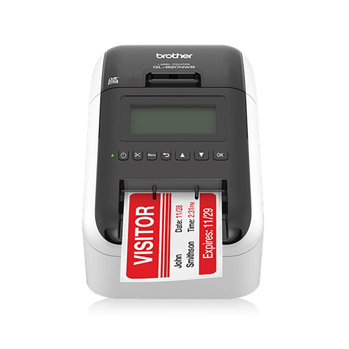 Brother QL-820NWB Wireless Label Printer For Business