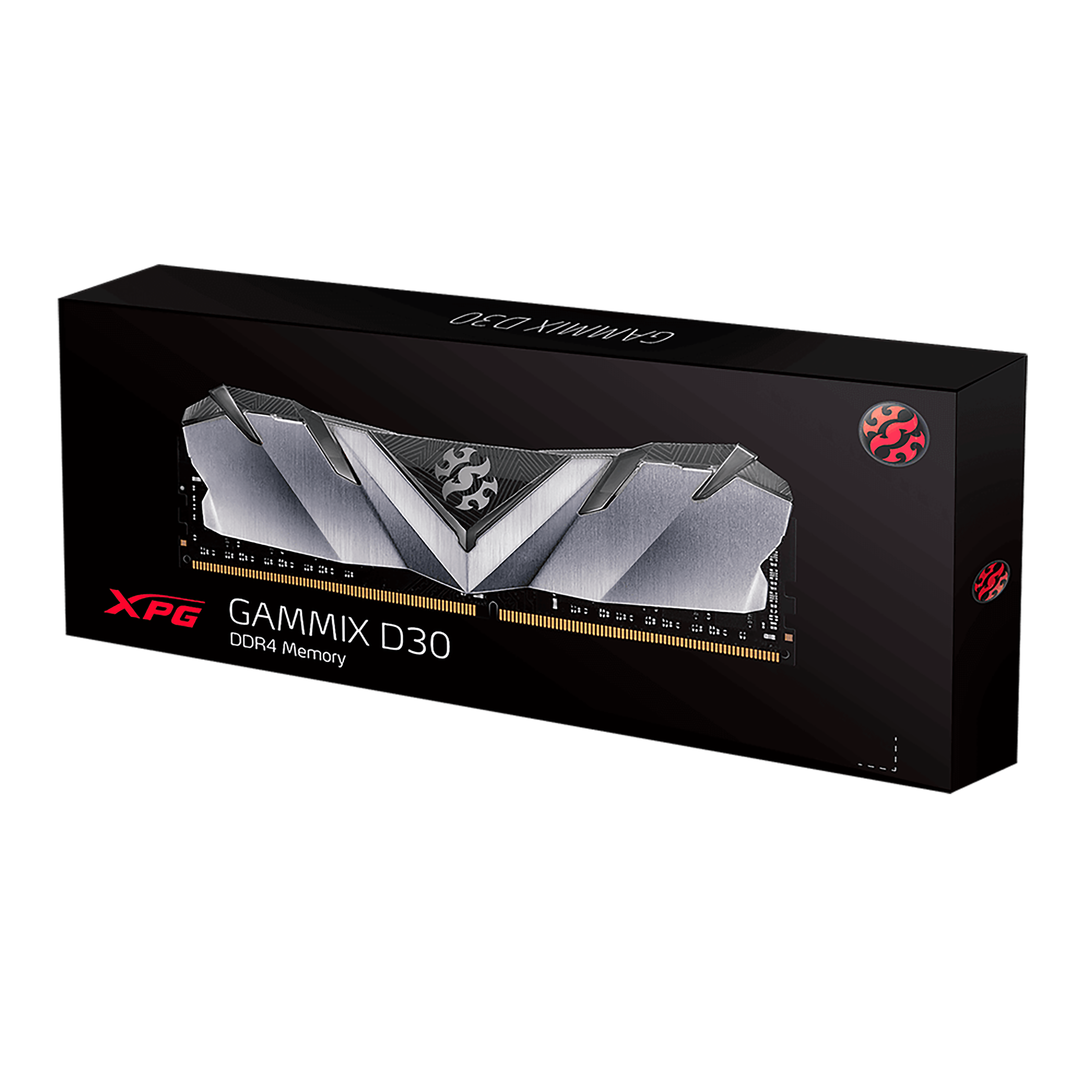 Model - Adata XPG Gammix D30, Capacity(MB) - 8GB, Type - DDR4, Bus Speed(MHz) - 2666MHz, CAS Latency - CL 16-18-18, Voltage - 1.2V, Warranty - Product Lifetime, Others - Black Heatsink Gaming Desktop RAM, Unique heatsink design with edgy wing-shaped, Supports Intel X299 platform and implements 2666MHz, Intel XMP 2.0 more accessible overclocking, RoHS compliant, Part No - AX4U266638G16-SB30