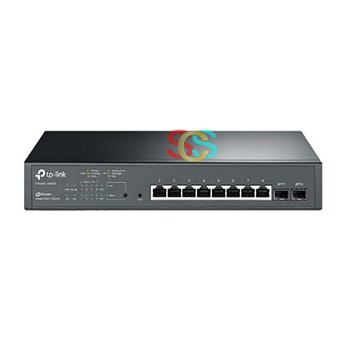 TP-Link T1500G-10MPS JetStream 8 Port All Gigabit Smart All PoE+ Switch with 2 SFP (PoE 116W)