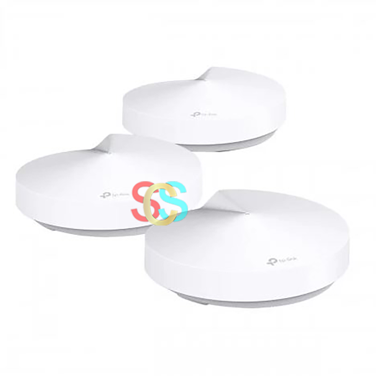 TP-Link Deco M5 AC1300 Mbps Gigabit Dual-Band Wi-Fi System (3-Pack)