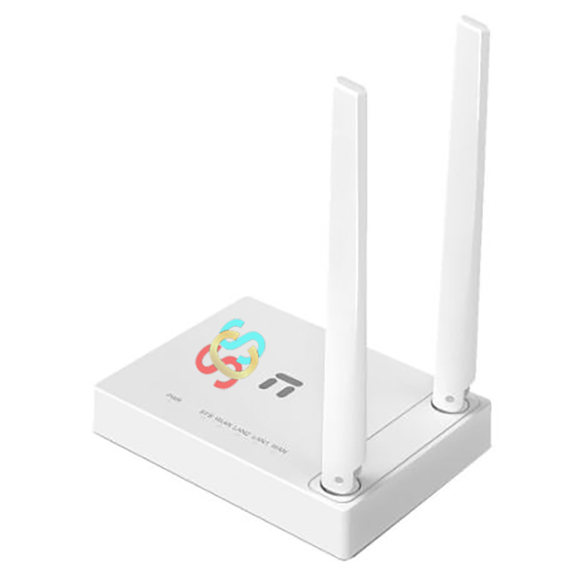 Netis W1 300 Mbps Ethernet Single-Band Wi-Fi Router