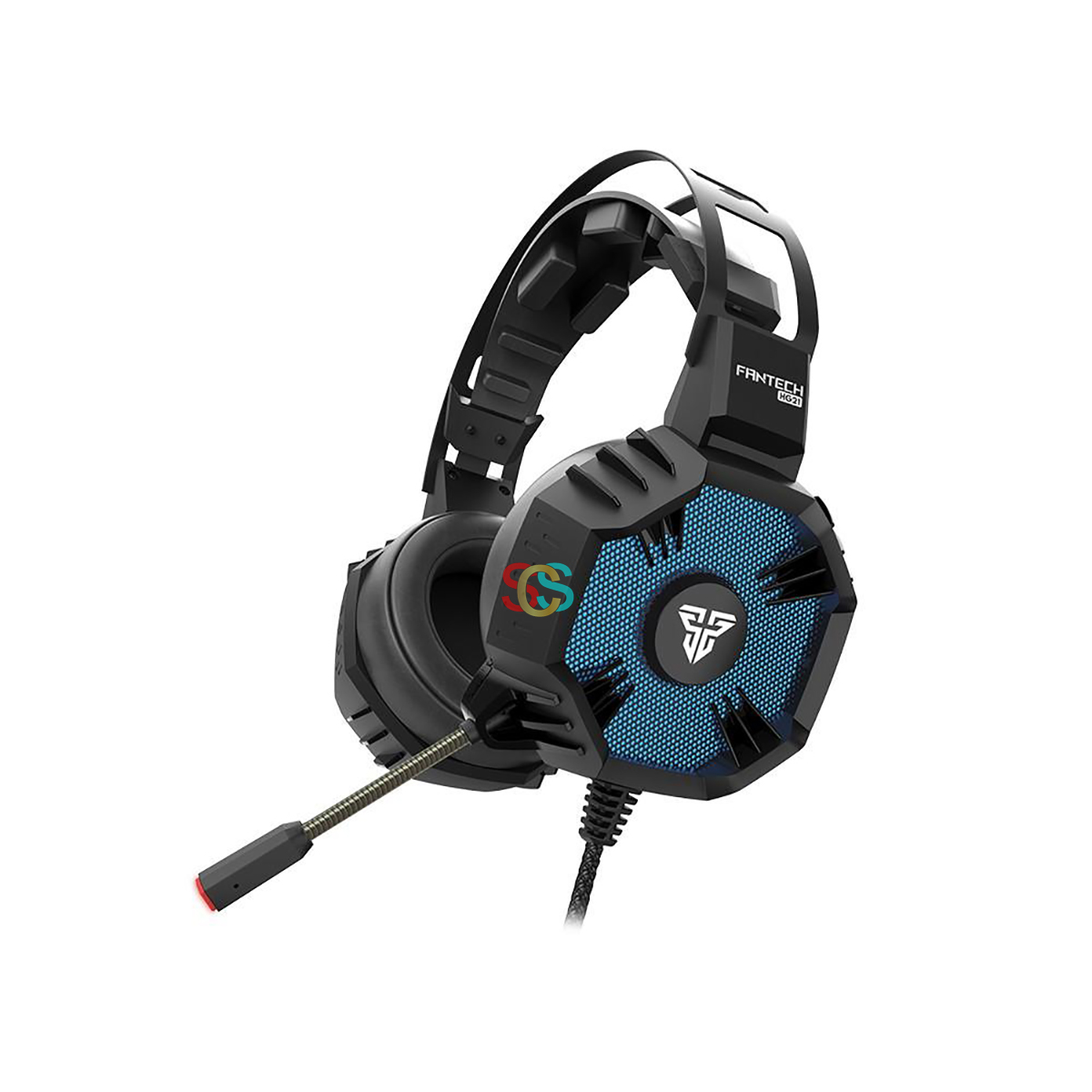 Fantech HG21 Wired Black Gaming Headphone