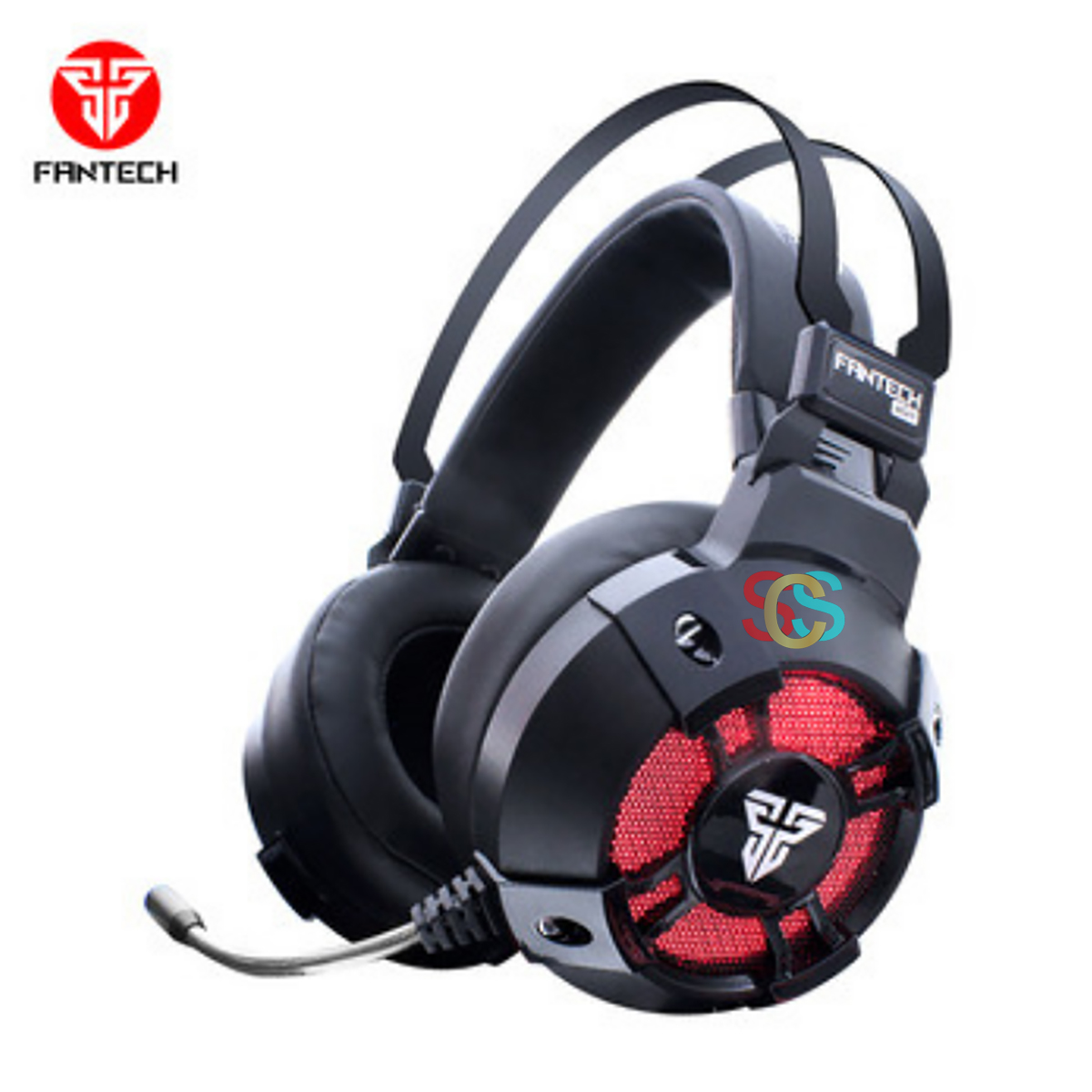 Fantech HG11 Pro Captain Wired Black Gaming Headphone