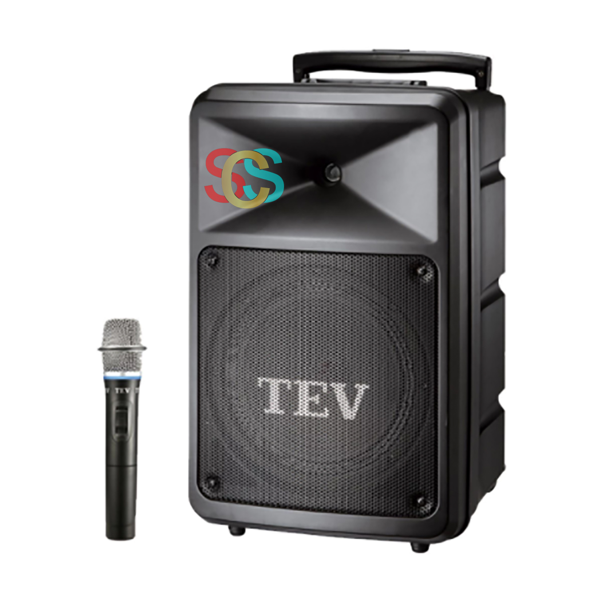 TEV TA-780 10 inch 280W Portable PA System (Handheld, Lavaliere, Headset)