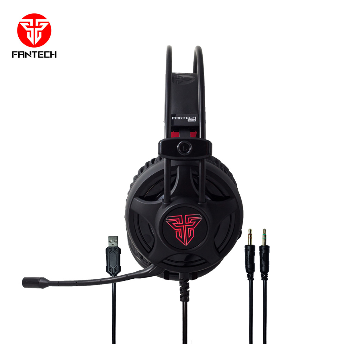 Fantech HG13 Wired Black Gaming Headphone