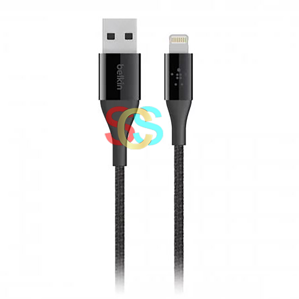 Belkin Lightning Male to USB Male, 1.2 Meter, Black Charging Cable
