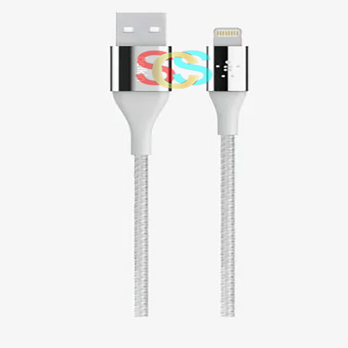 Belkin Lightning Male to USB Male, 1.2 Meter, Silver Charging Cable