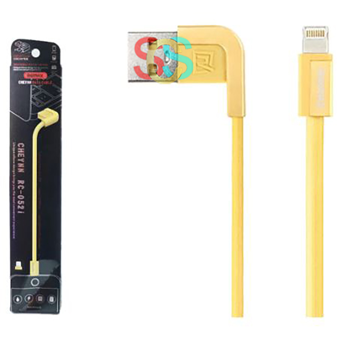 USB Male to Lightning, Data Cable (1 Meter, Gold)