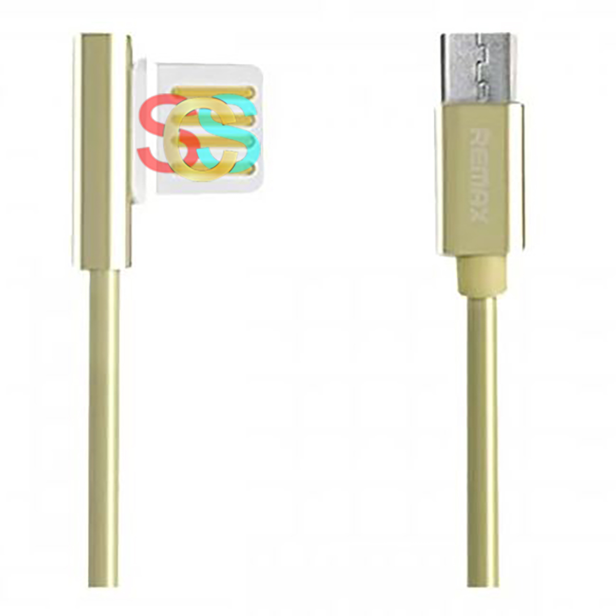 USB Male to Micro USB, Gold Data Cable(1Meter)