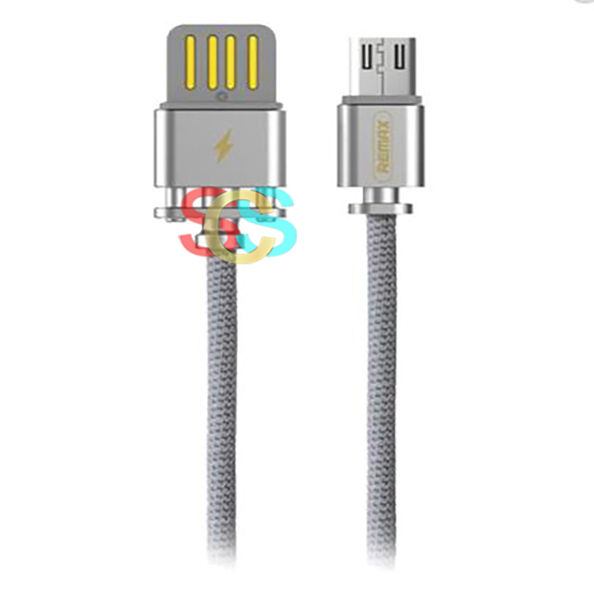 USB Male to Lightning, 1 Meter, Silver Data Cable