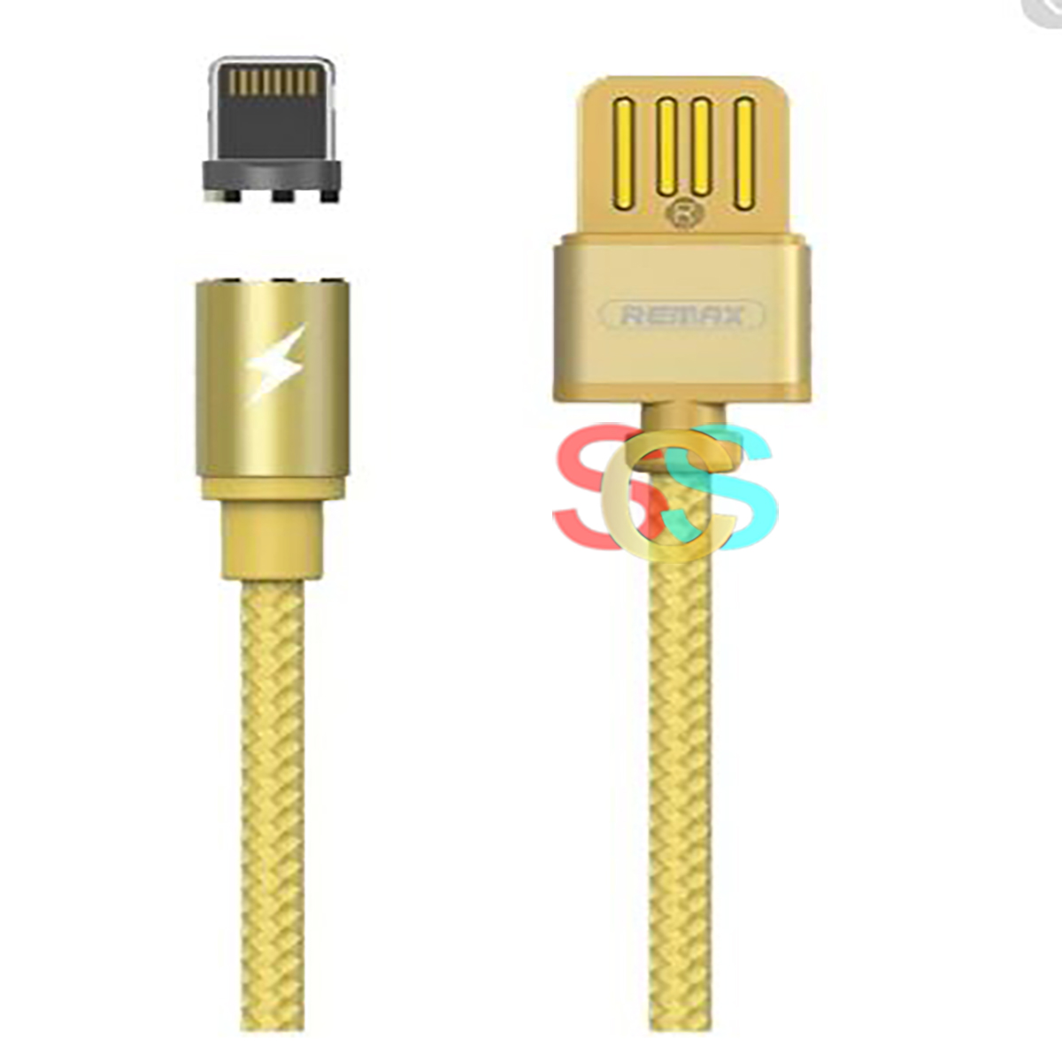 USB Male to Lightning, 1 Meter, Gold Charging Cable