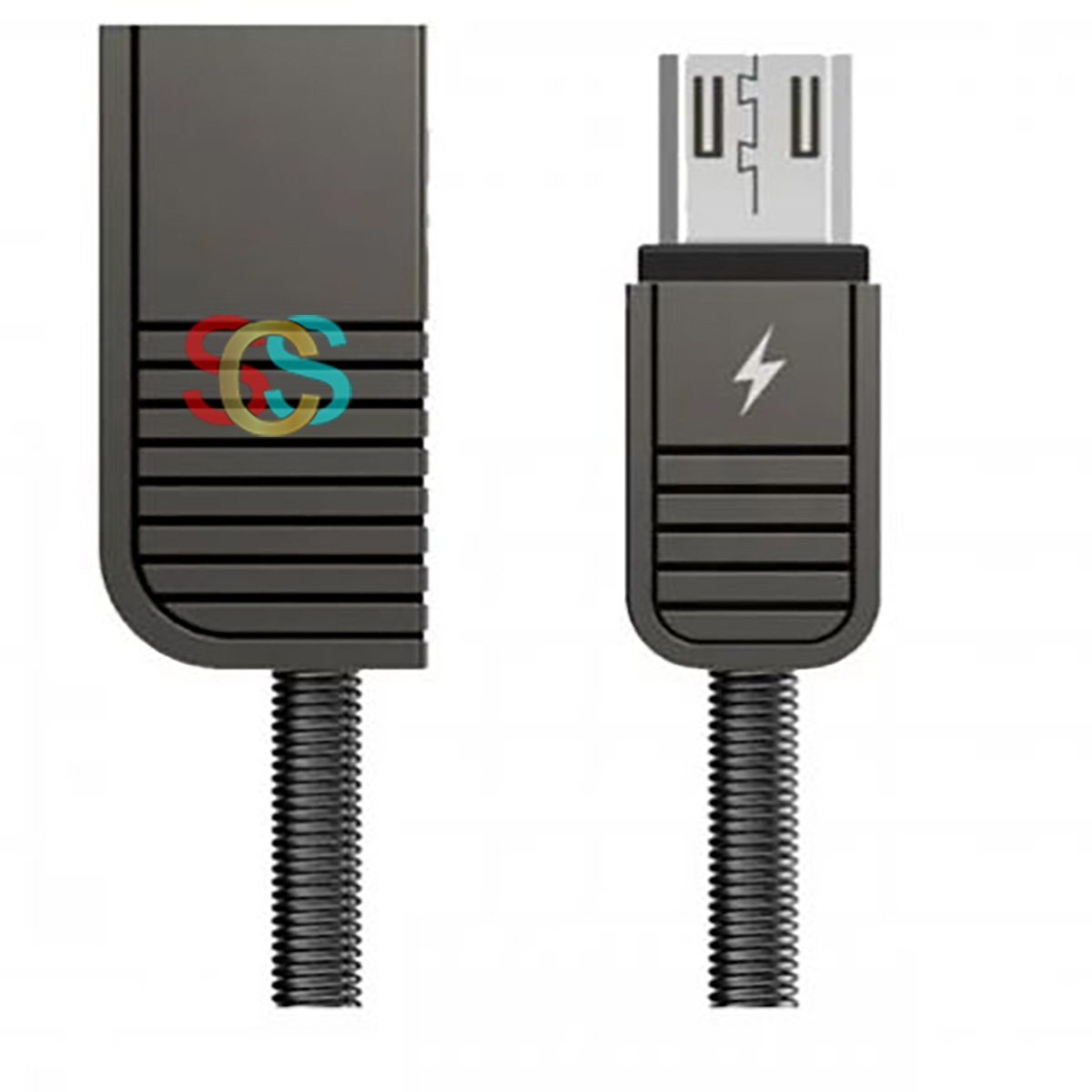 USB Male to Micro USB Black Data Cable 1 Meter