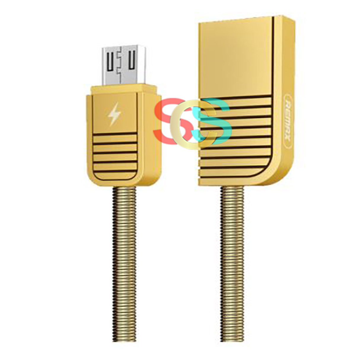 USB Male to Micro USB Gold Data Cable 1 Meter