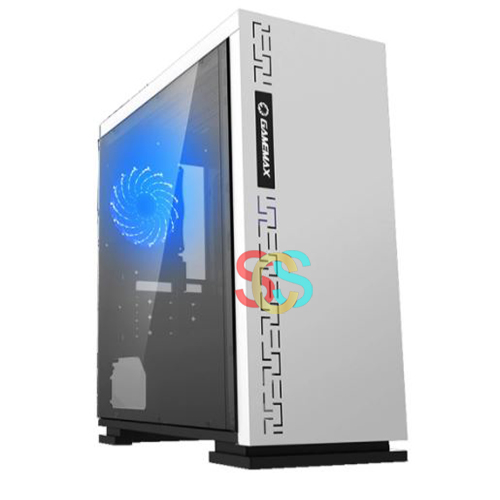 Gamemax H-605-WT Mid Tower White Gaming Casing