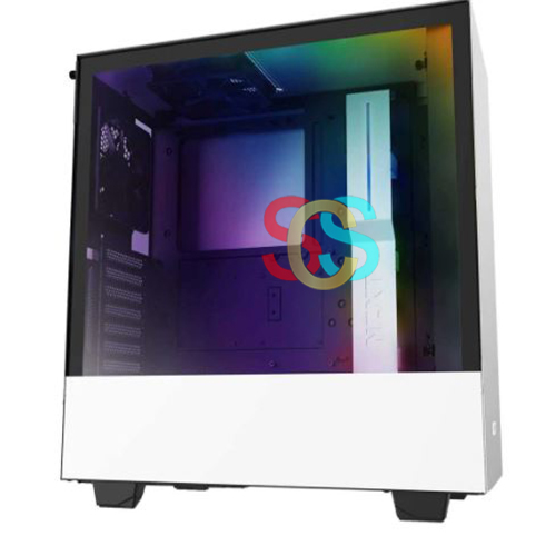 NZXT H510i Compact Mid Tower White-Black Gaming Casing