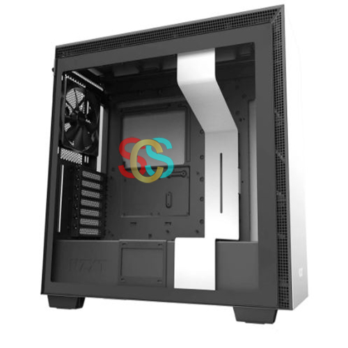 NZXT H710 Mid Tower Matte White ATX Gaming Casing