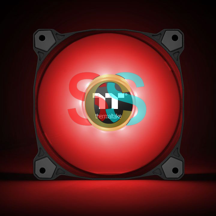Thermaltake Pure A12 Red LED Radiator Case Fan