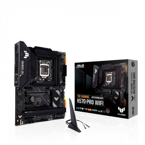 Asus TUF Gaming H570 Pro Wi-Fi 10th and 11th Gen ATX Motherboard